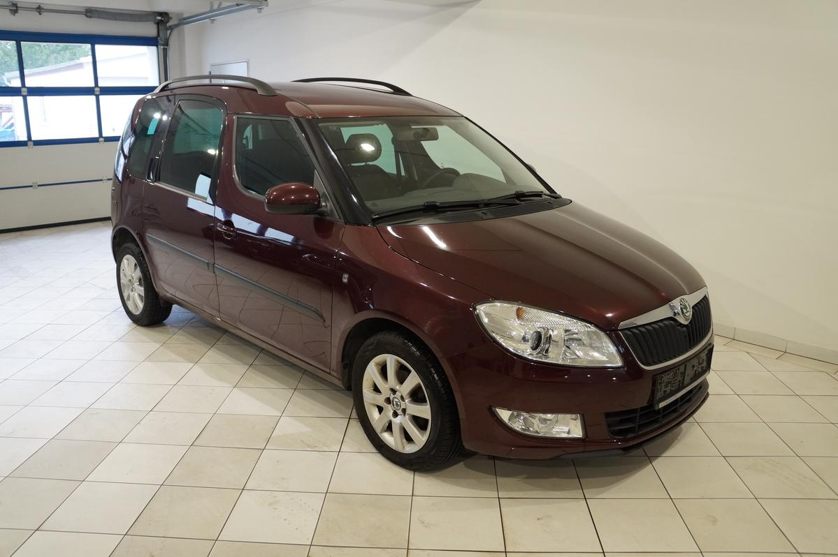 Skoda Roomster 1.2TSI Style PDC Alu Klima 8fach